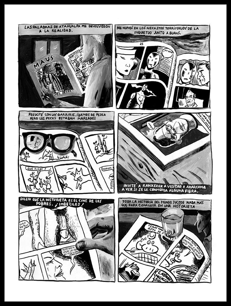 Roberto Jacoby y Sebastian Gordin - Historietas 1989-1990 -5a