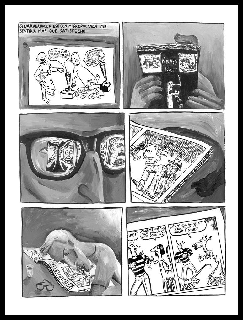 Roberto Jacoby y Sebastian Gordin - Historietas 1989-1990 -6a