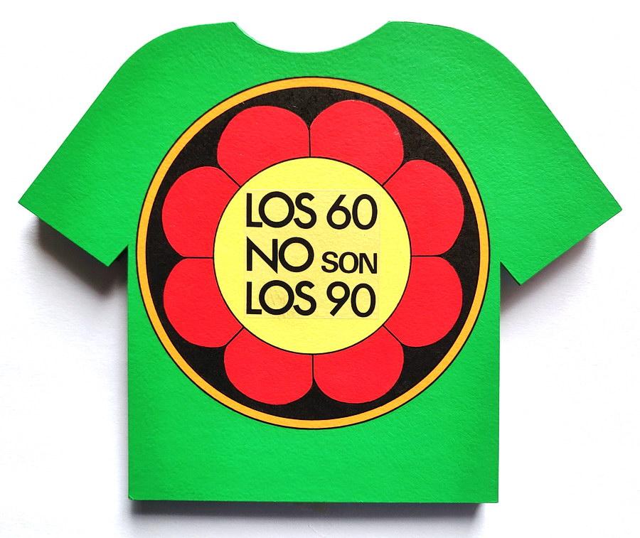 Rosana Fuertes, Los 60 no son los 90, 1994, detalle1