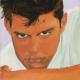 Fernanda Laguna, Luis Miguel, 1994, acrílico sobre tela, 20 x 13 cm Fundación Museo Reina Sofía. Promesa de donación de Patricia Phelps de Cisneros en honor a Sebastián Cisneros-Santiago