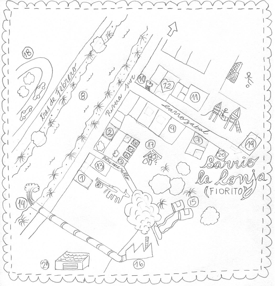 Mapa Fiorito