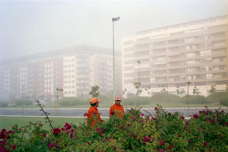 Alberto Goldenstein, Barrio Puerto Madero, serie Flâneur, 2004, fotografía analógica, 27 x 39 cm