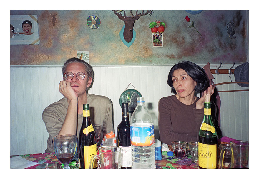 Alberto-Goldenstein---Gumier-Maier-y-Elba-Bairon,-casa-de-Ana-López,-ca.1996