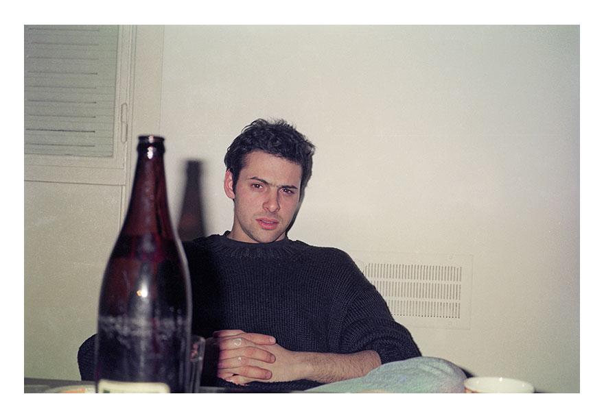 Alberto Goldenstein - Martin-Di-Girolamo-en-mi-casa,-1995